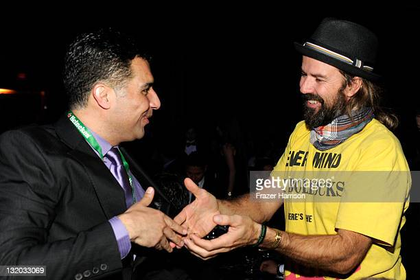 Guitarist Pau Dones of Jarabe De Palo attends the 2011 Latin Recording Academy's Person of the Year honoring Shakira at Mandalay Bay Resort Casino on...