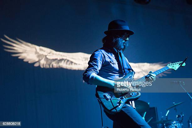Guitarist Paul Molloy of The Coral performs on stage at O2 Academy Glasgow on December 9 2016 in Glasgow Scotland