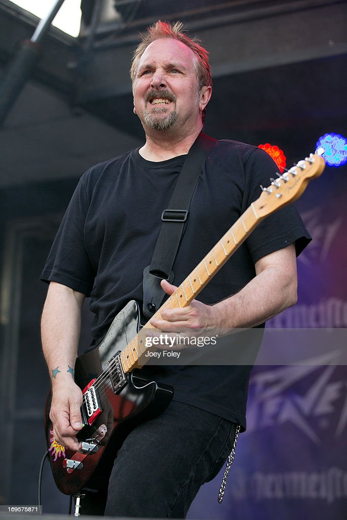 Guitarist Ric Ivanisevich of Oleander performs during 2013 Rock On The Range at Columbus Crew Stadium on May 17, 2013 in Columbus, Ohio.