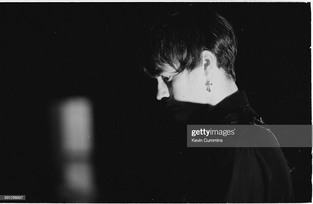 Guitarist Richey James Edwards, of Welsh alternative rock group the Manic Street Preachers, Bangkok, Thailand, 27th April 1994.