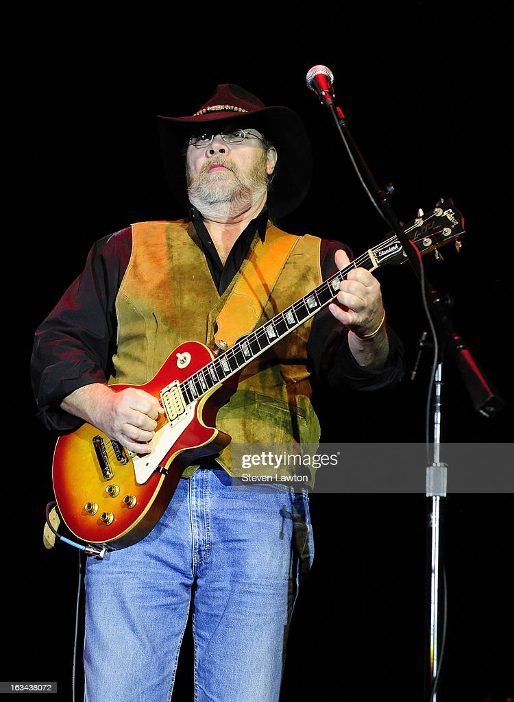 Guitarist Rick Willis of The Marshall Tucker Band performs at The Orleans Showroom at The Orleans Hotel & Casino on March 9, 2013 in Las Vegas, Nevada.