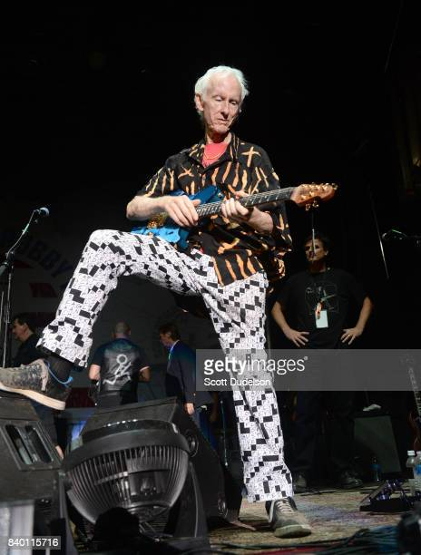 Guitarist Robby Krieger of The Doors performs onstage during the 10th annual Medlock Krieger All Star Concert benefiting St Judes Children's Research...