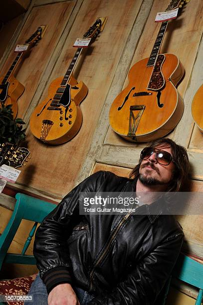 Guitarist Scott Holiday of American blues rock band Rival Sons taken on July 13 2011