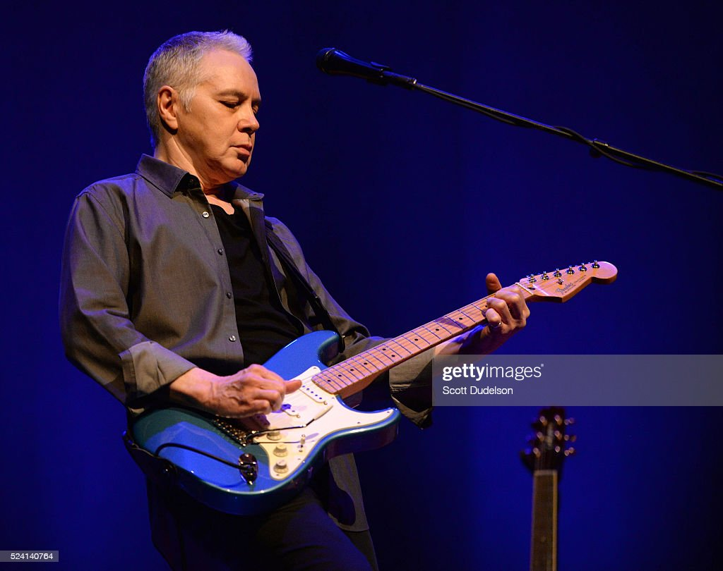 Guitarist Shane Fontayne performs onstage at Saban Theatre on April 22, 2016 in Beverly Hills, California.