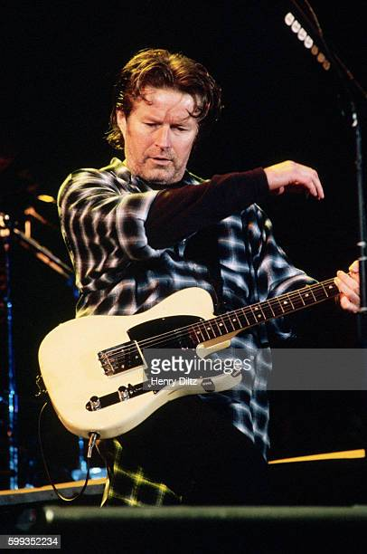 Guitarist singer Don Henley plays with The Eagles on their 'Hell Freezes Over' tour of 1995 The Eagles were the most popular band of the seventies...
