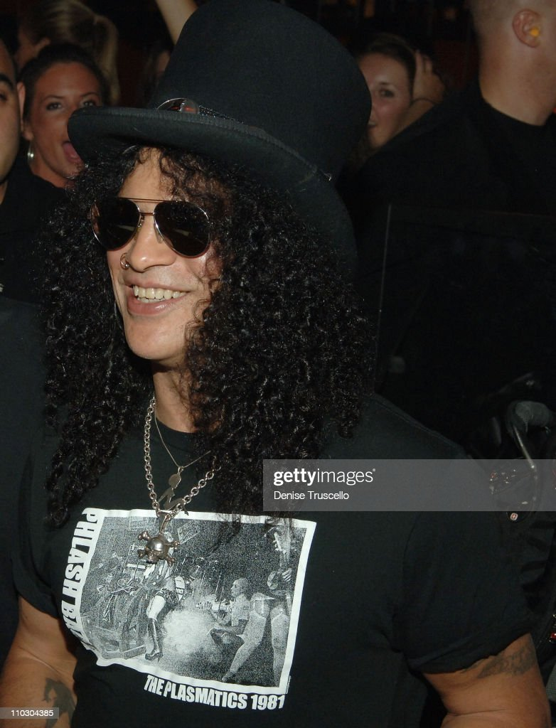 Slash Hosts Velvet Revolver After Concert Party At Jet Nightclub