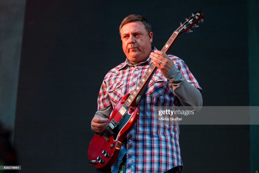 Guitarist Tim Sult of Clutch performs at The Greek Theater on August 18, 2017 in Berkeley, California.