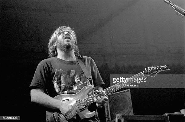 Guitarist Trey Anastasio performs with Phish at the Paradiso on February 17th 1997 in Amsterdam the Netherlands