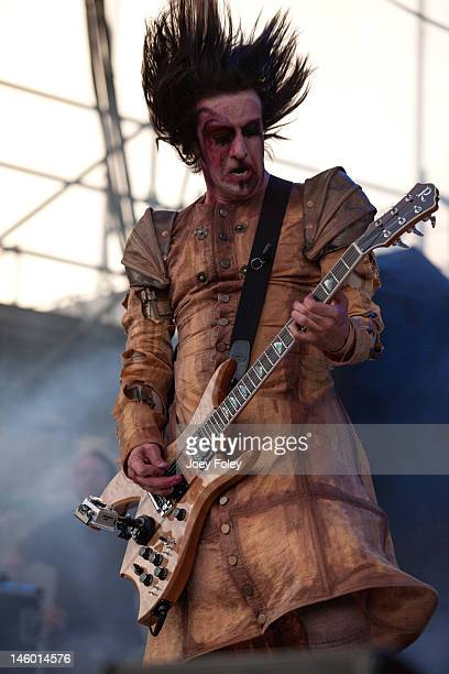 Guitarist Twiggy Ramirez of Marilyn Manson performs live during the 2012 Rock On The Range festival at Crew Stadium on May 20 2012 in Columbus Ohio