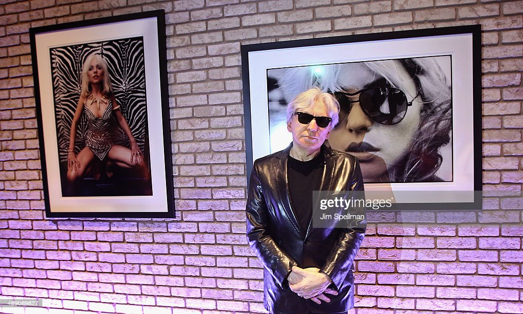 Guitarist/photographer Chris Stein attends the 'Blondie 4(0) Ever' Exhibition Opening at Morrison Hotel Gallery on May 9, 2014 in New York City.