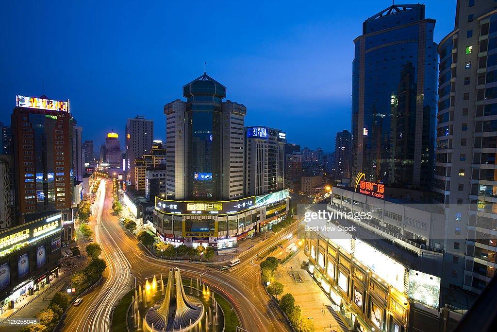 Guizhou,Guiyang,Fountain Square,