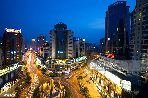 Guizhou,Guiyang,Fountain Square,