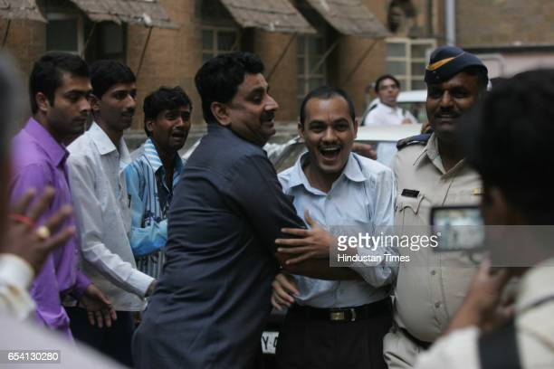 Gujarat Riots Bilkis Bano Case An accused being escorted away from the special court after being found guilty of raping and assaulting Bilkis Bano...