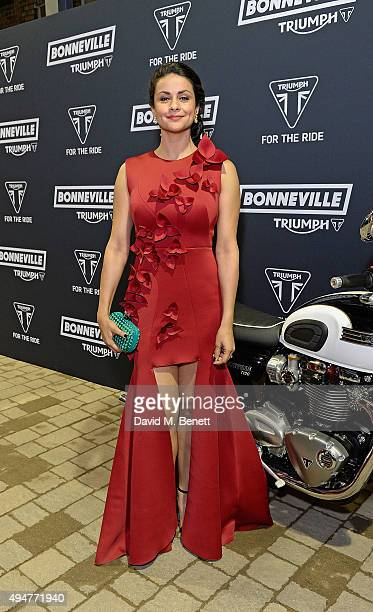 Gul Panag attends the Global Triumph Bonneville launch on October 28 2015 in London England