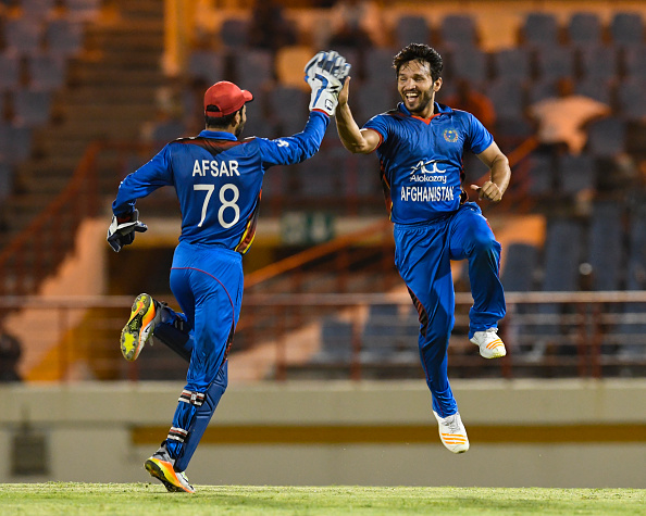 CRICKET-WEST INDIES-AFGHANISTAN-ST LUCIA : News Photo