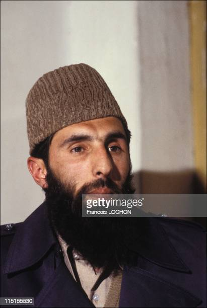 Gulbuddin Hekmatyar leader of 'HezbEIslami' in Afghanistan in February 1980