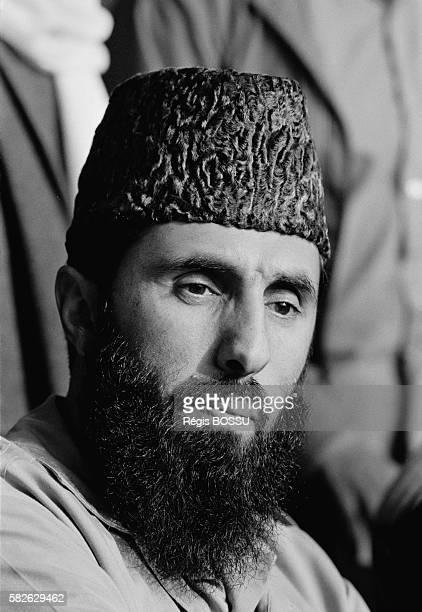 Gulbuddin Hekmatyar leader of the Afghan Islamic party HezbiIslami