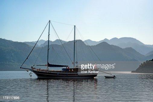 Gulet in The Hisaronu Bay