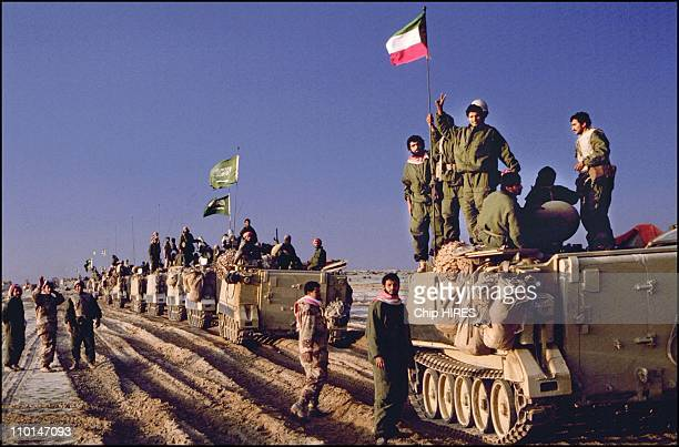Photo gallery gulf war stock photos and pictures getty images gulf war allied forces enter kuwait in on february 25 1991 sciox Image collections