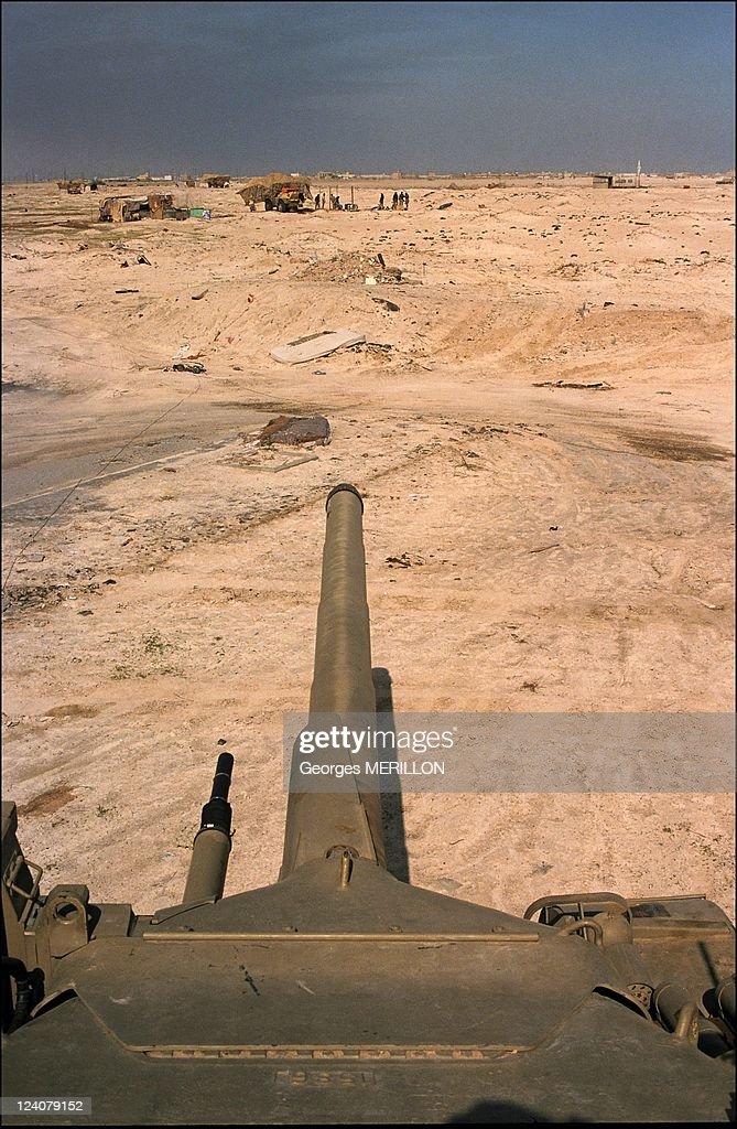 Khafji Saudi Arabia  city pictures gallery : Gulf War Khafji after the battle In Al Khafji Saudi Arabia On February ...