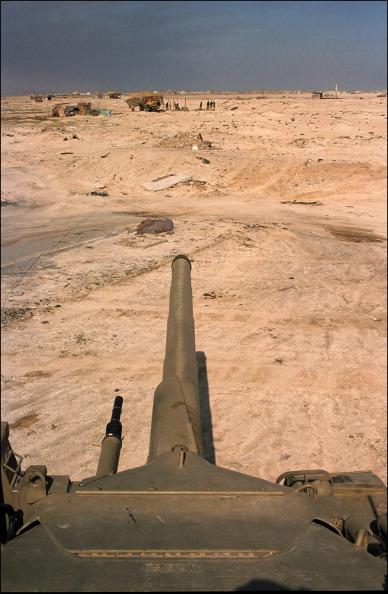 Khafji Saudi Arabia  city photo : Gulf War Khafji after the battle In Al Khafji Saudi Arabia On February ...
