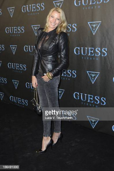 Gulia Siegel attends 'Guess Presents Tiesto' at P1 on November 15 2012 in Munich Germany