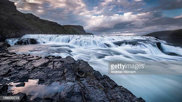 Gullfoss Flow Front