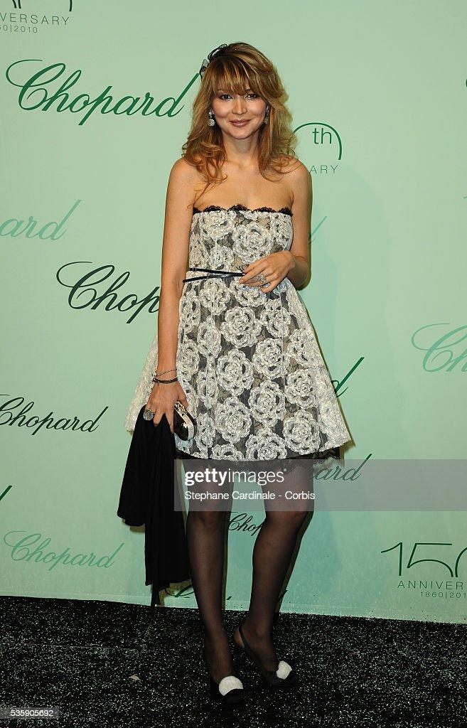 Gulnara Karimova at the 'Chopard 150th Anniversary Party' during the 63rd Cannes International Film Festival.