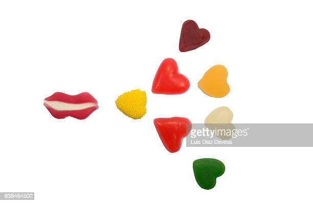 Gum drops for Valentine's Day