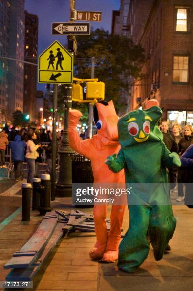 CONTENT] gumby and pokey on the streets of Manhattan New York City