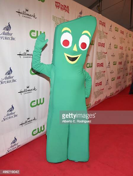 Gumby attends 2015 Hollywood Christmas Parade on November 29 2015 in Hollywood California