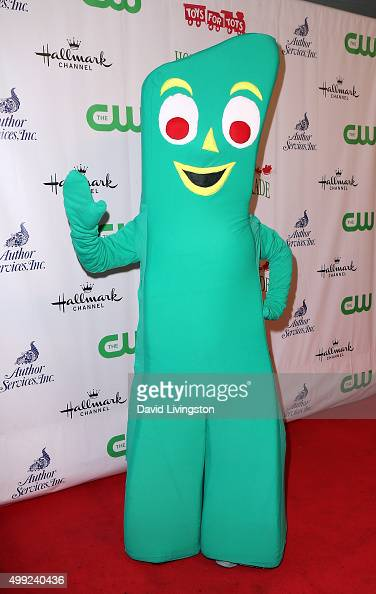 Gumby attends the 84th Annual Hollywood Christmas Parade on November 29 2015 in Hollywood California