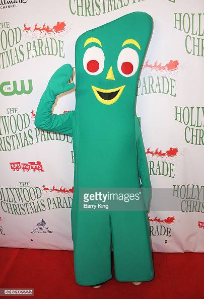 Gumby attends the 85th Annual Hollywood Christmas Parade on November 27 2016 in Hollywood California