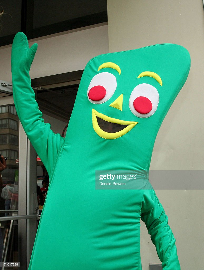 Gumby attends the premiere of 'Gumby' at the 2007 Tribeca Film Festival on April 28 2007 in New York City