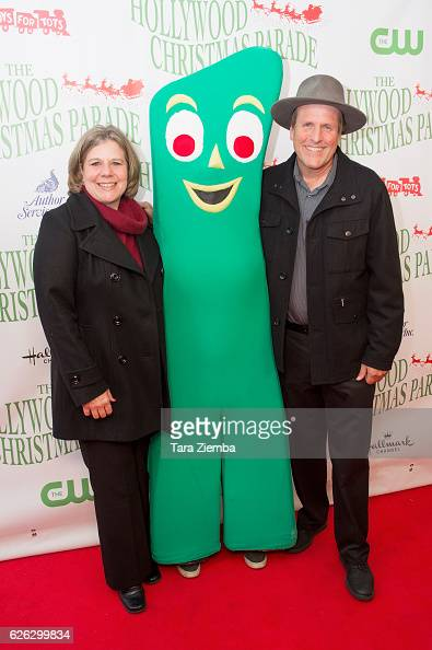 Gumby Joe Clokey and wife Joan attend the 85th Annual Hollywood Christmas Parade on November 27 2016 in Hollywood California