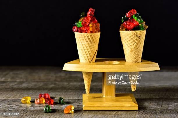 Gummi Bear Cones