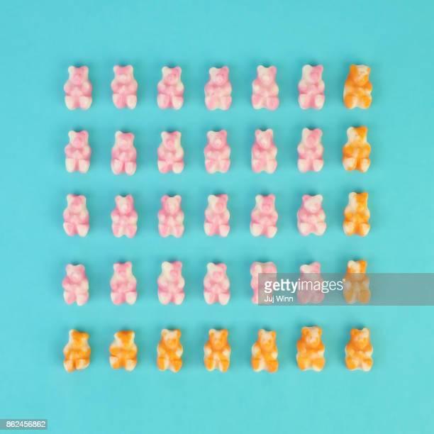 Gummy Bear Grid