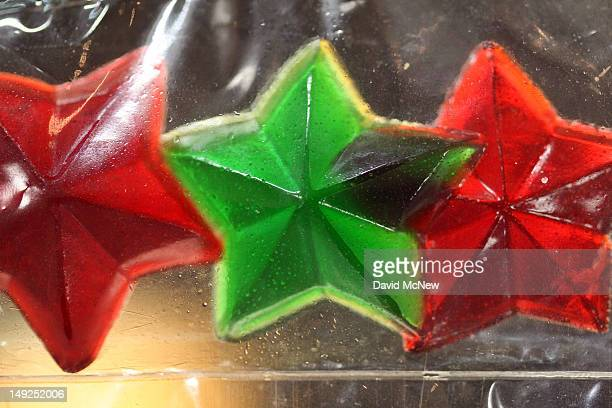 Gummy candy stars made of marijuana are seen at Perennial Holistic Wellness Center medical marijuana dispensary which opened in 2006 on July 25 2012...