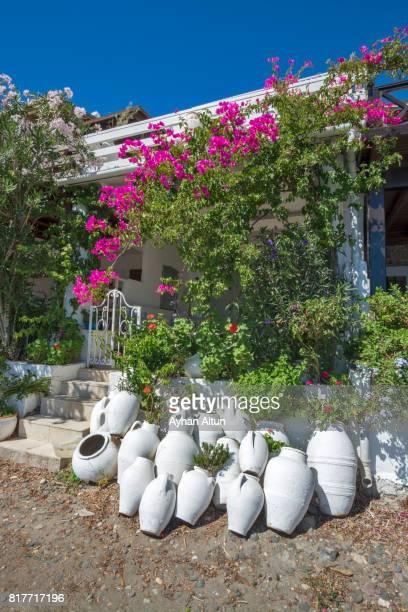 Gumusluk seaside village in Bodrum,The Aegean Coast,Turkey