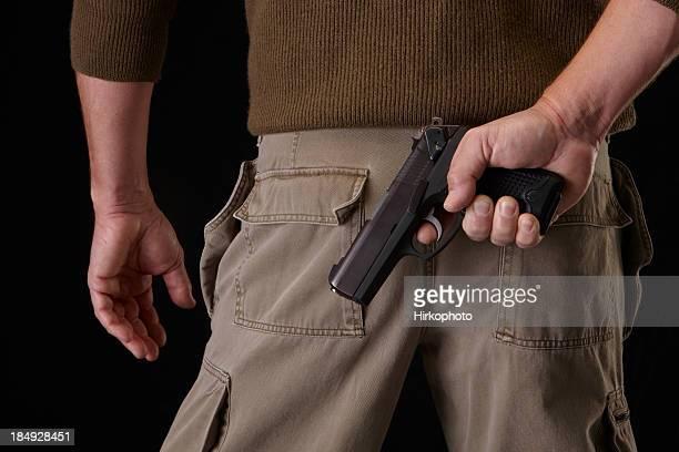 Gun in ready