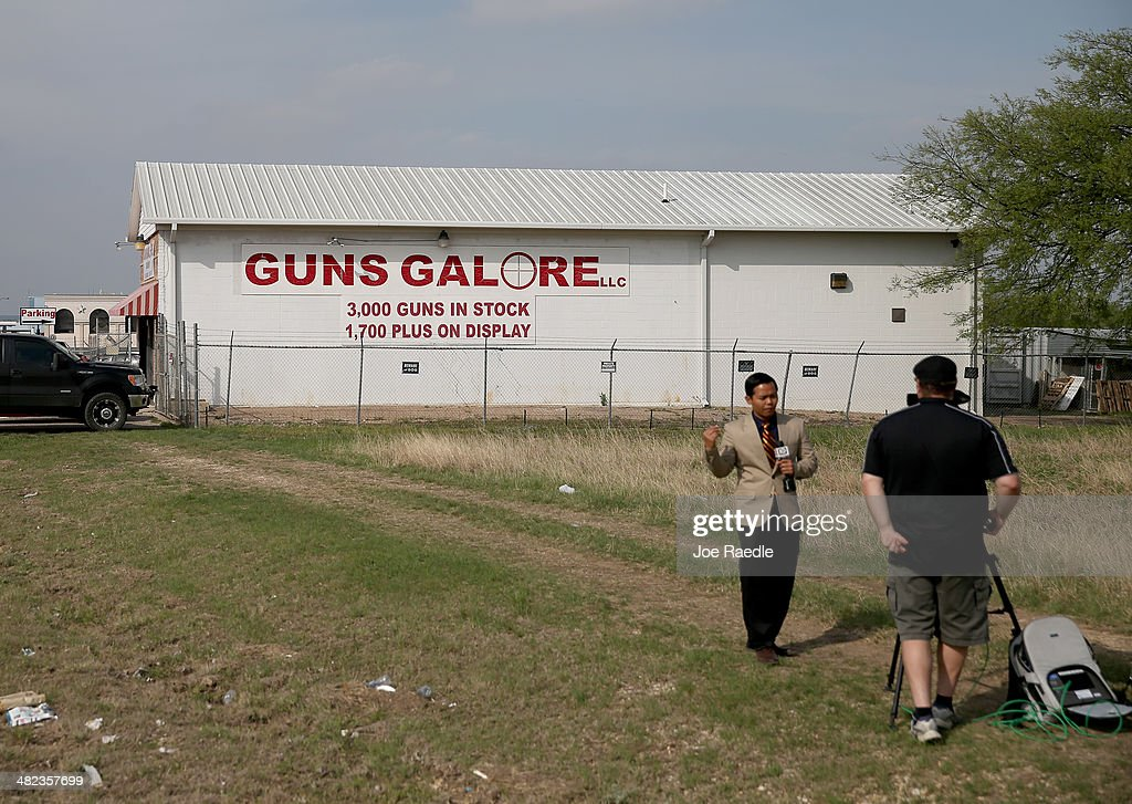 Gun shop, 'Guns Galore' is seen where it is reported that Iraq war veteran, Ivan Lopez, bought his weapon before using it to kill three and wound 16 at Fort Hood before taking his own life on April 3, 2014 in Killeen, Texas. The investigation continues into why Lopez did the shooting on the base.