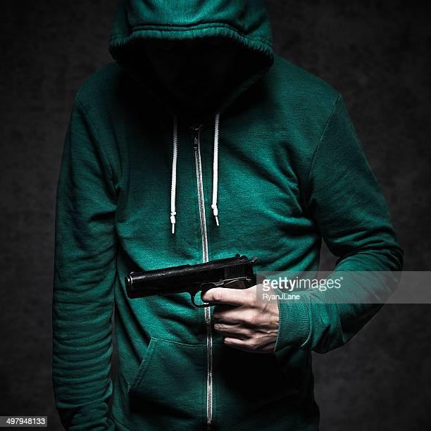 La Violence étudiant de tir Pistolet