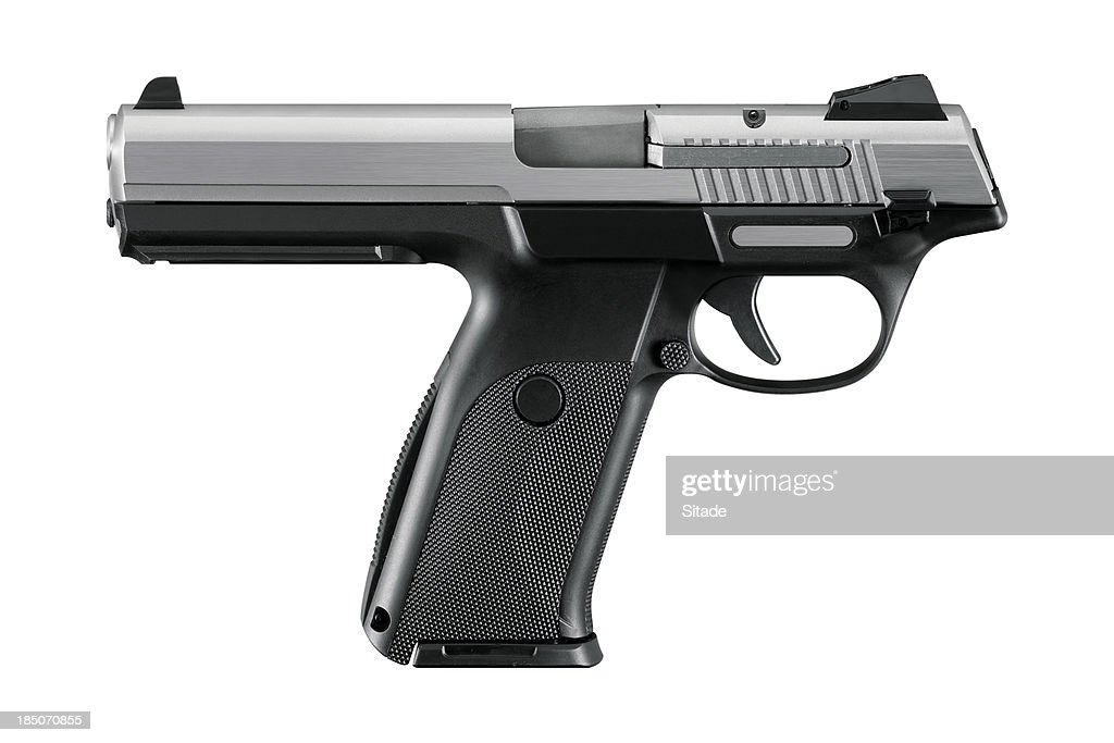 Gun With Clipping Path
