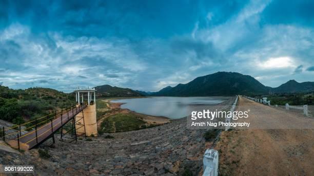 Gundal Dam panorama