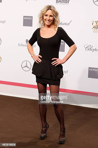Gundis Zambo arrives for the Tribute to Bambi 2015 at Station on October 15 2015 in Berlin Germany