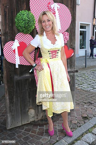 Gundis Zambo during a bavarian evening ahead of the Kaiser Cup 2016 on July 15 2016 in Bad Griesbach near Passau Germany