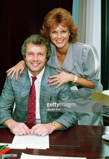 Gundlach Alida Fernsehmoderatorin D/Niederlande mit Ehemann Burckhard