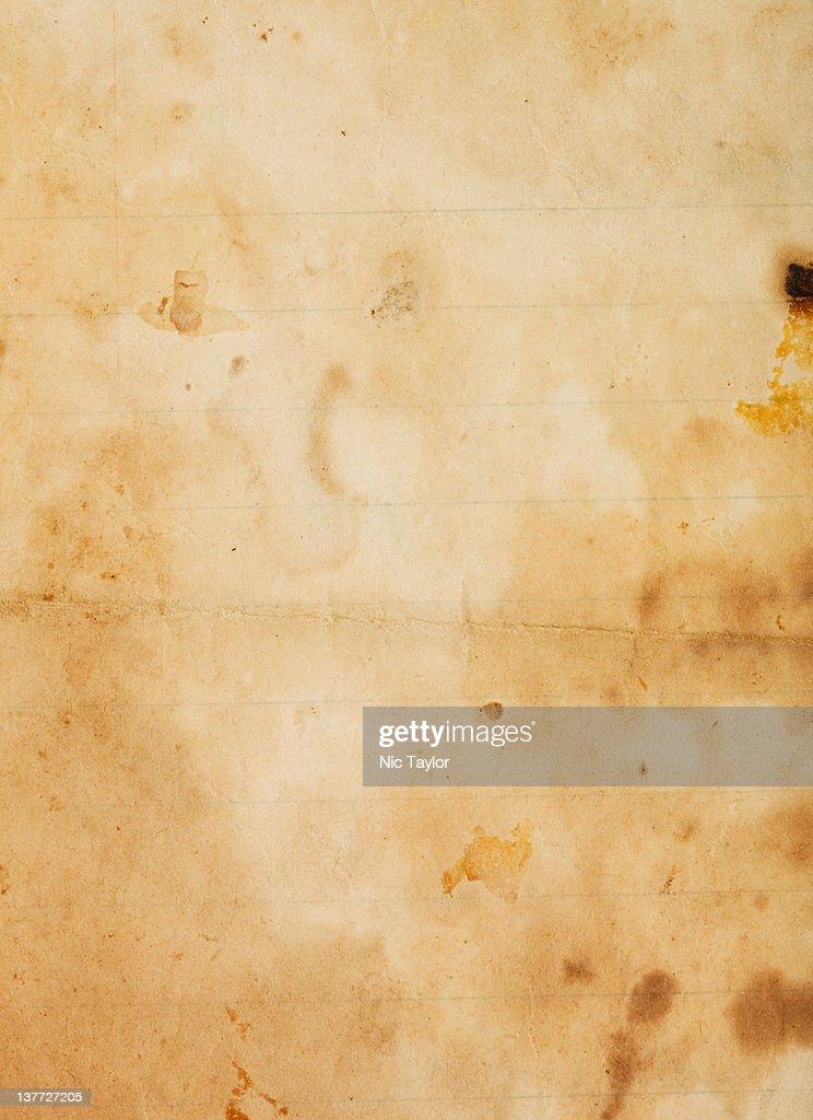 Gunge Paper- Hi-Res Macro : Stock Photo