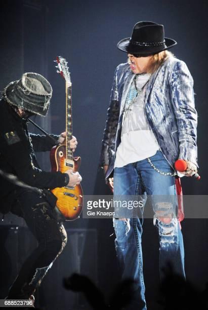 Guns N' Roses Axl Rose DJ Ashba Sportpaleis Antwerpen Belgium
