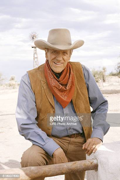 Gunsmoke One Mans Justice a madeforTV movie featuring James Arness Image dated September 27 1993 Original broadcast date February 10 1994